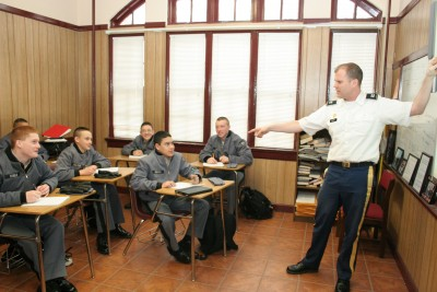 Fishburne Military School maintains a traditional education model with every class, every day.