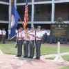 Fishburne Military School (VA) Honored with Blue Star Memorial during First Formation