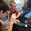 Fishburne Military School (Waynesboro, VA) cadets participate in NASA-sponsored rocketry camp