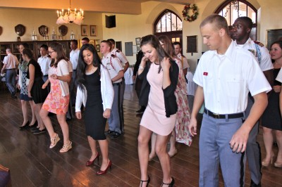 military schools and debutantes