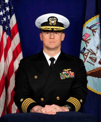 Fishburne Military School's 12th Superintendent is retired navy Captain Mark E. Black