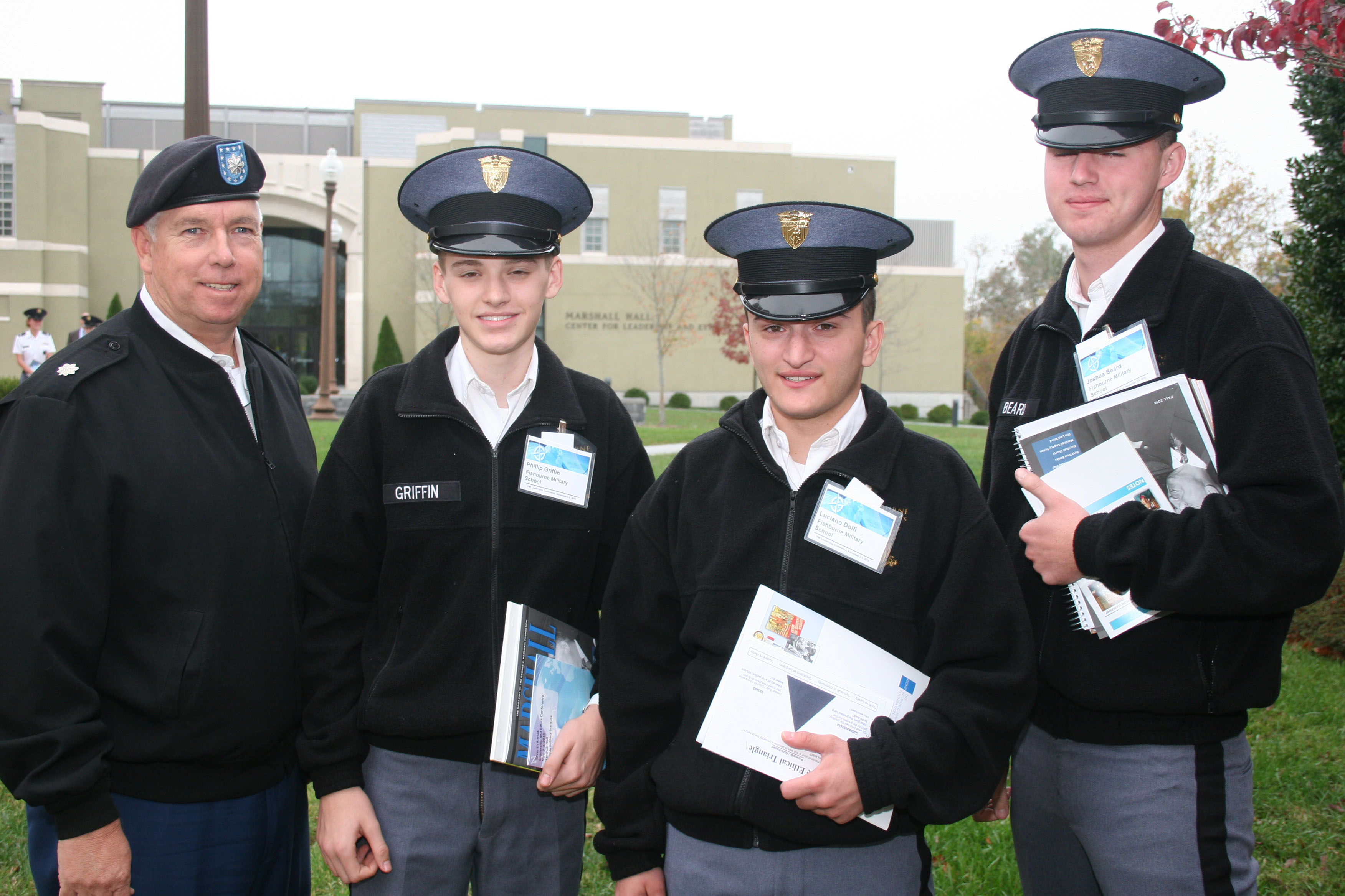 Fishburne Military School Cadets attend Virginia Military Institute Leadership and Ethics Conference