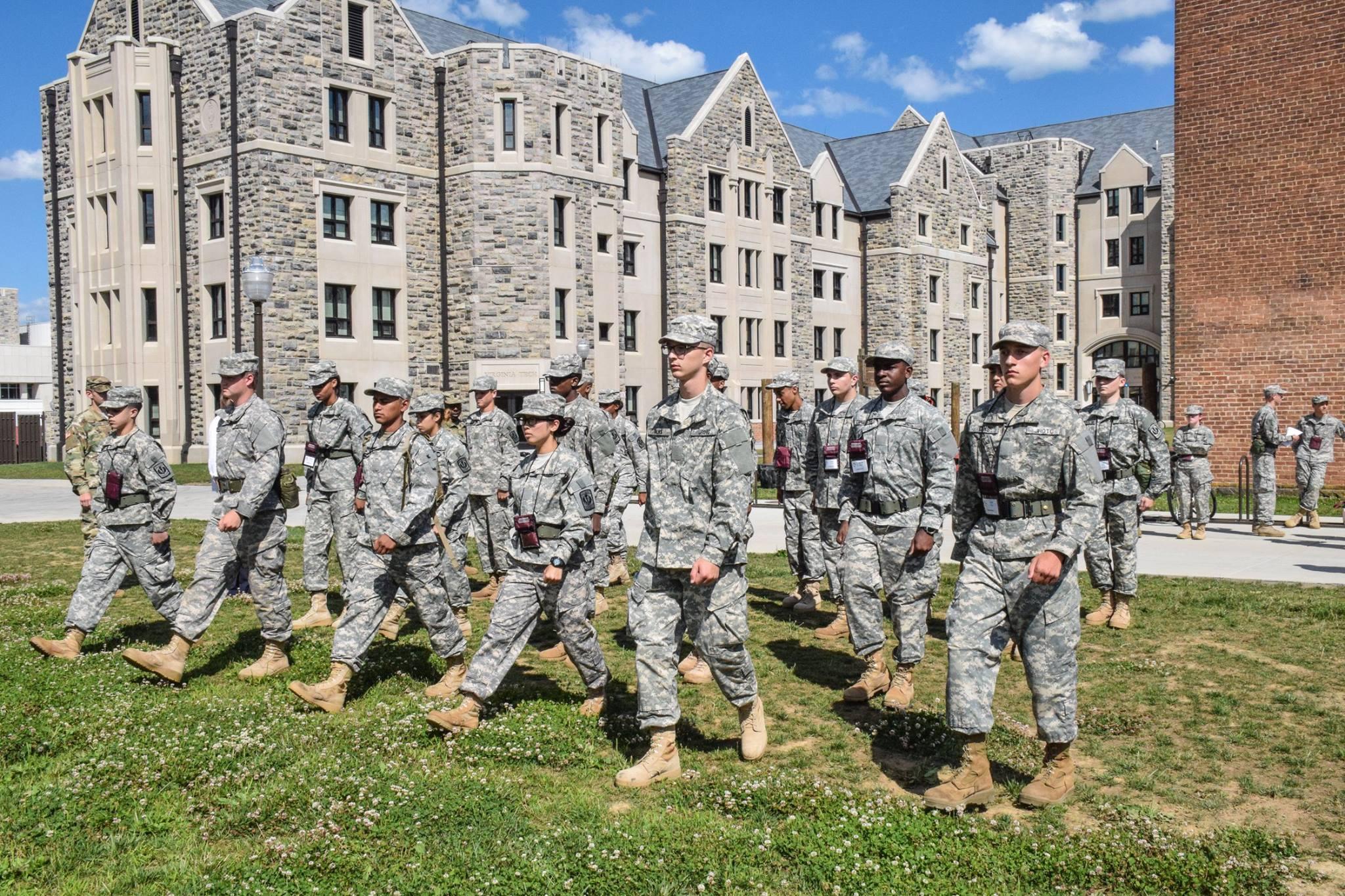 Fishburne Military School at Virginia Tech JROTC STEM Camp
