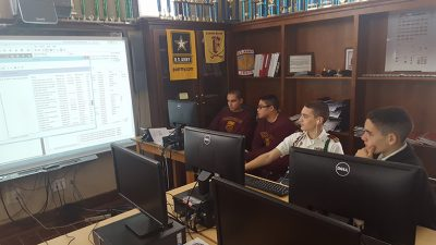 Fishburne Military School JROTC sponsors CyberPatriot , Leadership Bowl and Academic Bowl Teams