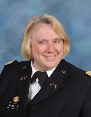 CPT Roxanne Rodes, Fishburne Military School (Waynesboro, VA)