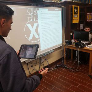 Fishburne Military School (Waynesboro, VA) CyberPatriots cybersecurity team