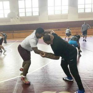 Fishburne Military School (Waynesboro, VA) Wrestling and Olympic Gold Medalist Kenny Monday