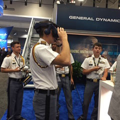 Fishburne Military School Cadets at AUSA Annual Meeting and Expo