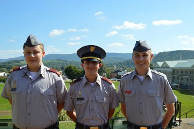 Fishburne Military School (Waynesboro, VA) Cadets of the Month for September 2018