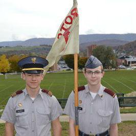 Fishburne Military School (Waynesboro, VA) monthly Cadet awards